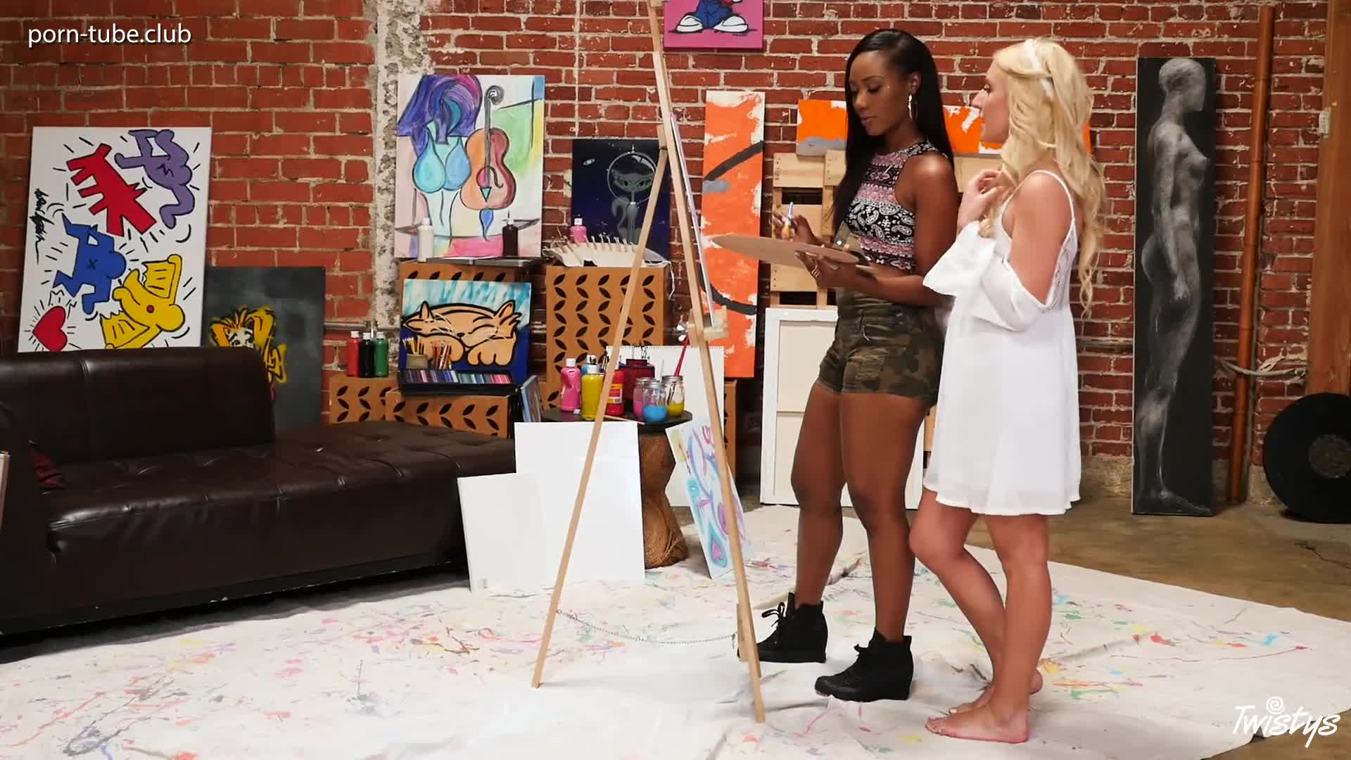 FeatureFilms 16.12.17 Chanell Heart And Xandra Sixx The Artist Within Part 2