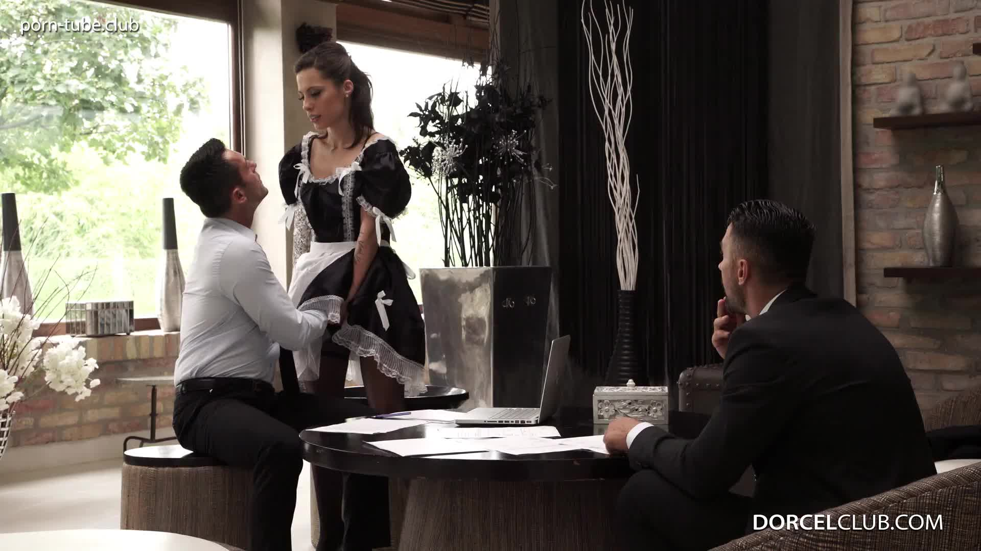 DorcelClub 17.01.26 Nikita Bellucci Maid Nikita Gets Fucked By 3 Men