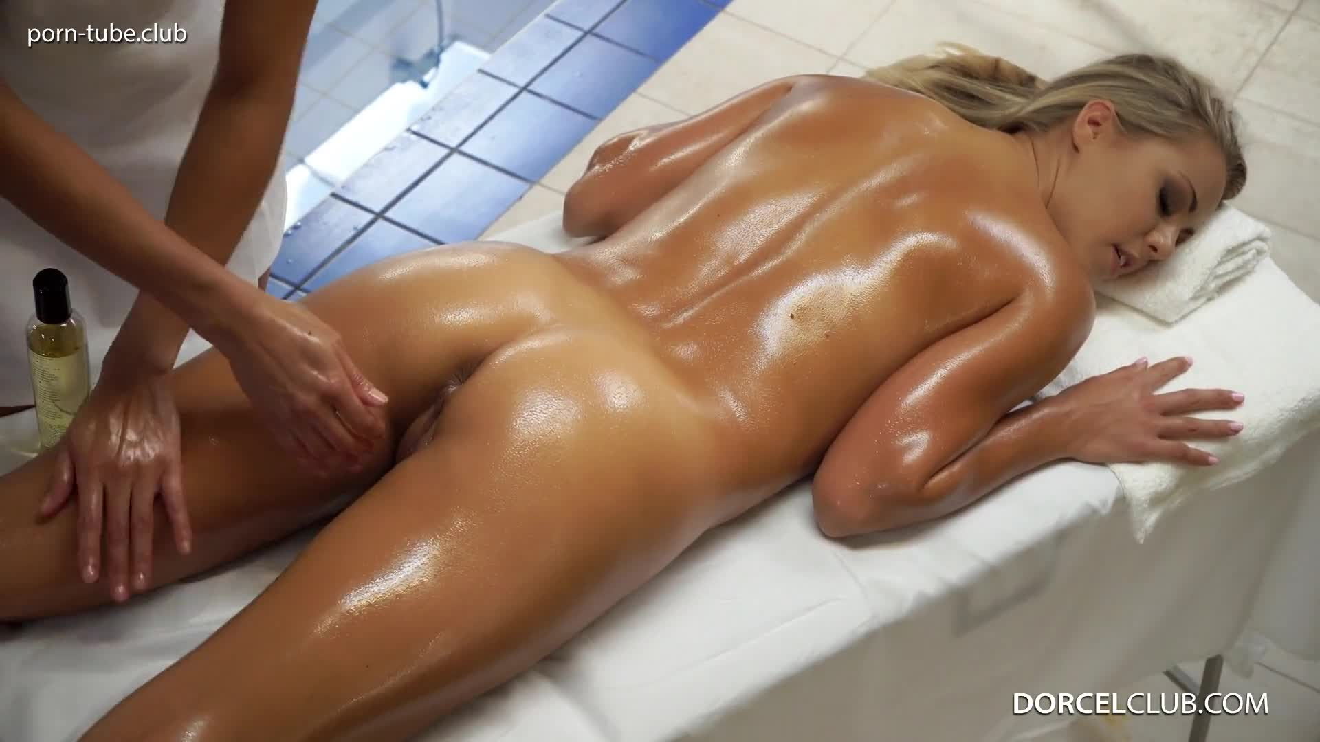 DorcelClub 17.03.30 Christen Courtney And Cassie Del Isla Oiled Lesbian Games