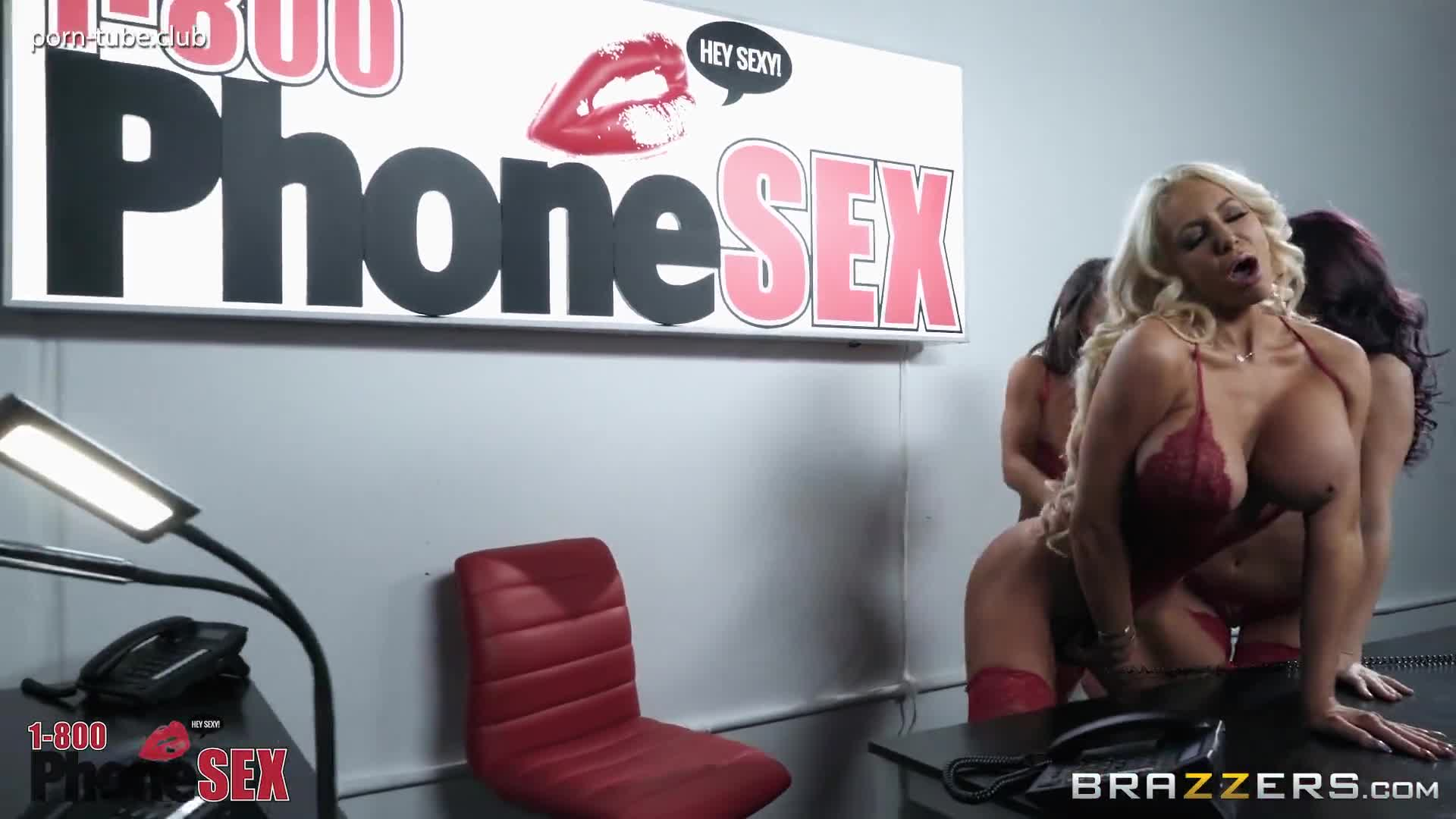 BrazzersExxtra 18.01.28 Madison Ivy Monique Alexander And Nicolette Shea 1.800 Phone Sex Line 8