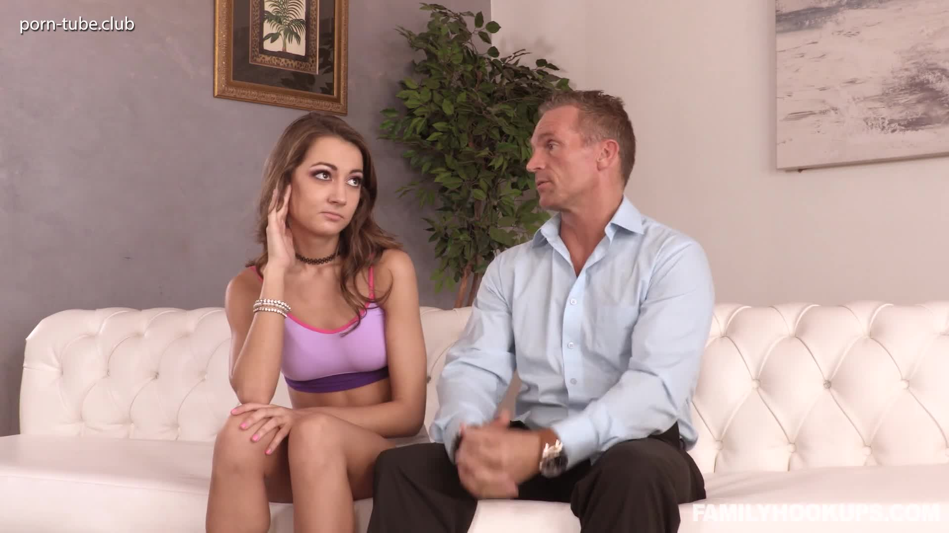 FamilyHookups 18.09.21 Lily Adams Skipping School For Stepdads Cock
