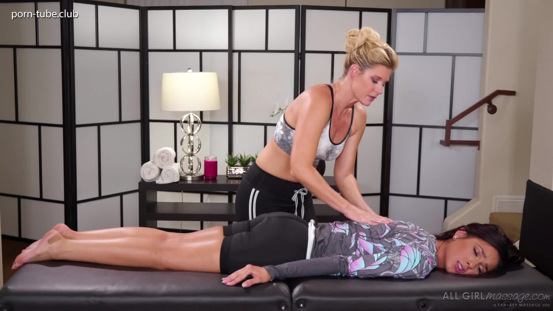 AllGirlMassage 18.12.31 India Summer And Jaye Summers The Sore Cyclist