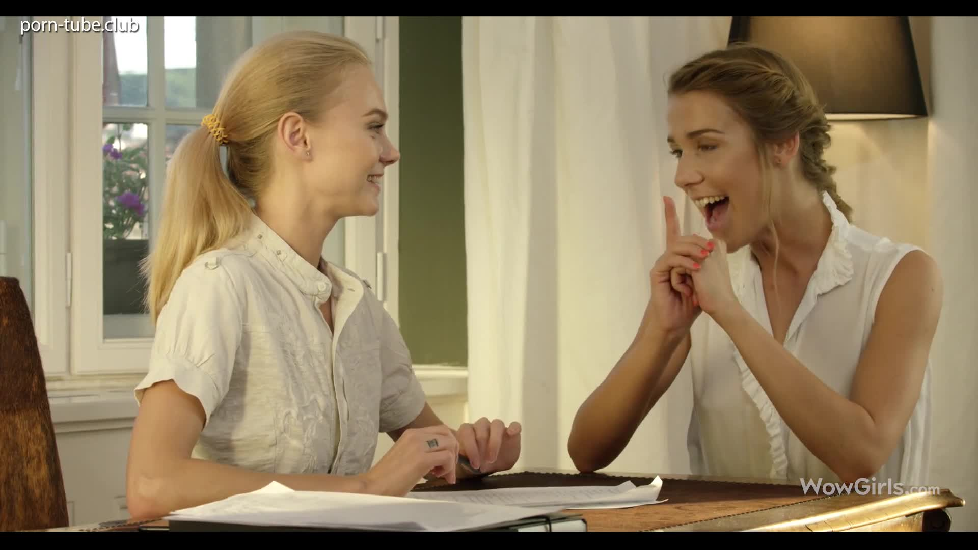 WowGirls 18.07.20 Alexis Crystal And Nancy A Seducing Her Teacher Episode 2