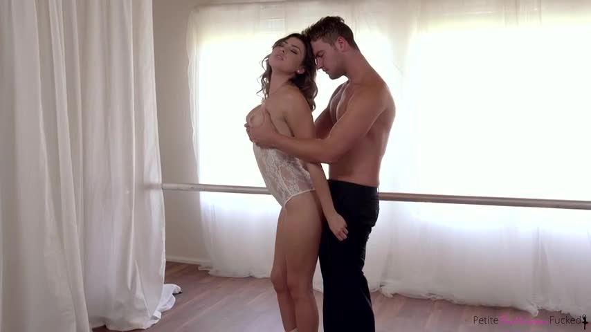 Melissa Moore Lucky guy has sex with a ballerina
