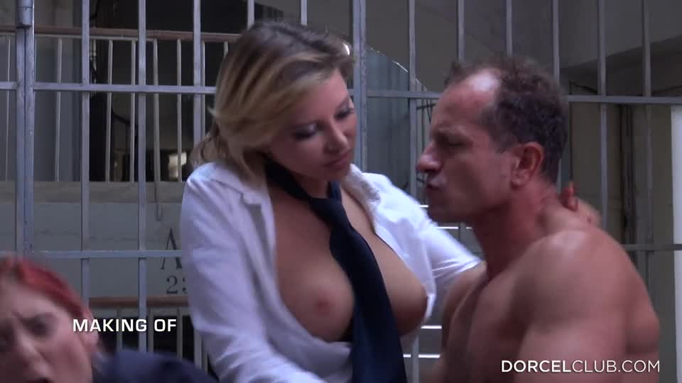 DorcelClub - Anna Polina Alexis Crystal Blanche Bradburry Kattie Gold - Making Of - Hot nights in Prison